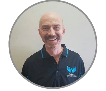 Physiotherapist David Callingham